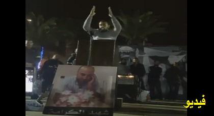الزفزافي يعتبر عسكرة الحسيمة محاصرة سياسية واقتصادية