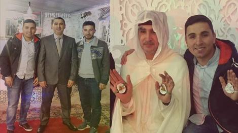 تهنئة إلى عائلة زازري بمناسبة زواج ابنهم عزيز زازري