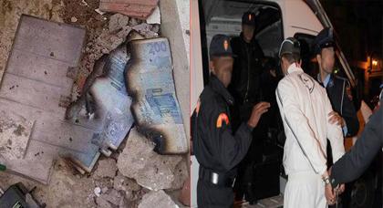 القبض على المشتبه به في سرقة وكالة بنكية بطريقة هوليودية بمدينة سلوان