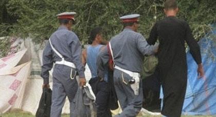 الدرك الملكي بسلوان يعتقل عصابة إجرامية روعت المواطنين