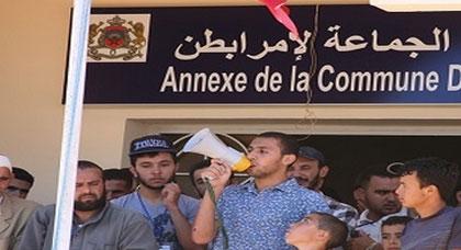 مواطنون يحتجون على أوضاعهم المزرية بجماعة إمرابطن بإقليم الحسيمة