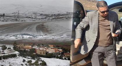 بعد التساقطات الثلجية.. عامل الدريوش يتفقد عدداً من الجماعات القروية ويستطلع حالة الطرق