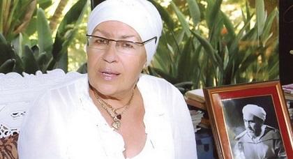 نجلة الزعيم محمد بن عبد الكريم الخطابي توثق رأيها حول حراك ساكنة الريف