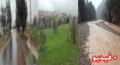 الأمطار بالريف.. أحيت الأرض وأنبت الزرع وأسالت الأودية وفضحت هشاشة البنية التحية