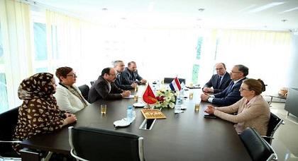 إلياس العماري يستقبل عمدة روتردام الريفي بوطالب لتعزيز علاقات التعاون بين المغرب وهولاندا