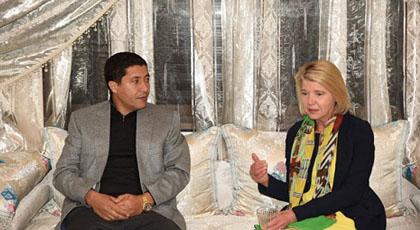 رئيس الجهة الشرقية يستقبل سفيرة هولندا ويشجعها على الإستثمار بالجهة الشرقية