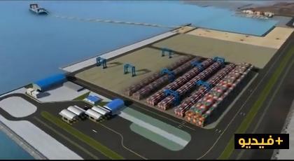 هكذا يتم إنشاء الموانئ من الجيل الجديد فهل ستعتمد هذه الطريقة بميناء الناظور غرب المتوسط