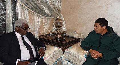 رئيس مجلس جهة الشرق يستقبل الكاتب العام لمنظمة المدن والحكومات المحلية المتحدة الافريقية