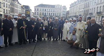 مسيرة حاشدة بالعاصمة البلجيكية بروكسيل للتنديد بالإرهاب و التطرّف
