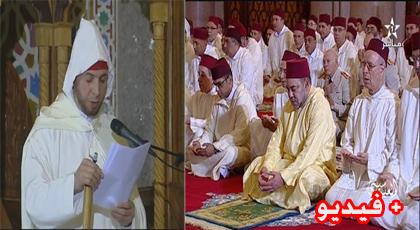 رشيد أوليشك .. خطيب شاب من تمسمان أدى خطبة الجمعة أمام أنظار الملك بمسجد الحسن الثاني بالدار البيضاء