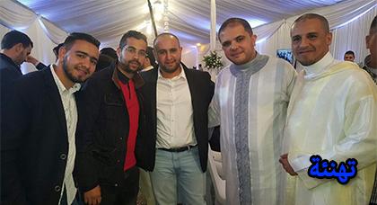 تهنئة محمد مزديم بمناسبة حفل زفافه