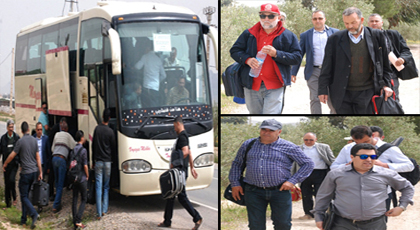 فلاحو الدريوش يشدون الرحال لمدينة مكناس للمشاركة في المعرض الدولي للفلاحة