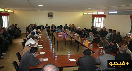 عامل إقليم الدريوش يشرف على تنصيب القائد الجديد لقيادة بني سعيد