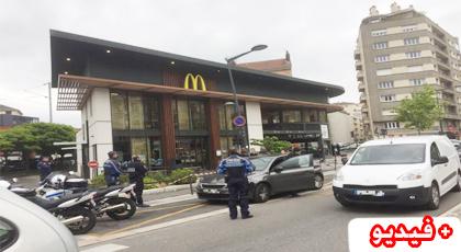 مرة أخرى..  انفجار ضخم في مطعم «ماكدونالدز» بغرونوبل بفرنسا
