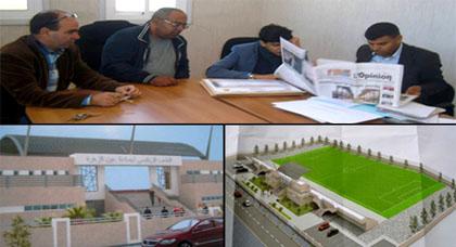 مجلس جماعة عين زورة يطلق صفقة إنجاز الدراسة المعمارية لبناء ملعب لكرة القدم