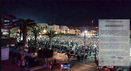 الحسيمة.. عشرات الهيئات تستنكر مظاهر الاحتجاج العشوائي والعنف والتحريض بالمدينة