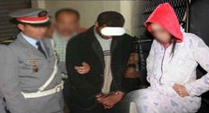 اعتقال خمسيني متزوج بعد ضبطه متلبسا بالخيانة الزوجية مع فتاة مراهقة بأركمان