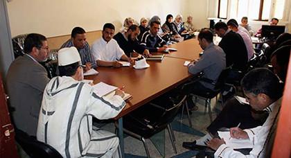 المجلس العلمي بمعية مندوبية الشؤون الإسلامية بالناظور  يعد البرنامج العلمي والوعظي والاجتماعي  لشهر رمضان 1438هـ /2017م
