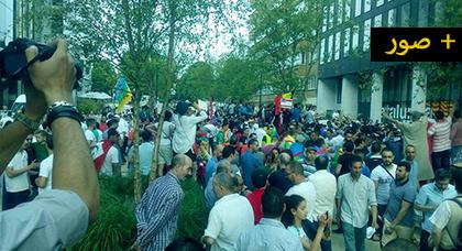 احتجاجات أمام الاتحاد الأوربي ببروكسل والبرلمان الهولندي  وبأرجاء أروبا للمطالبة بالحرية لمعتقلي حراك الريف