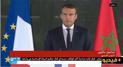 رئيس فرنسا يسأل الملك محمد السادس عن حراك الريف وهذا جواب جلالته
