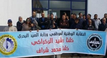 نقابات الصيد البحري تخوض إضرابا وطنيا تضامنيا مع المعتقلين على خلفية مقتل محسن فكري