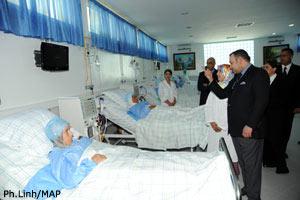 جلالة الملك يدشن مركزا لتصفية الدم بمستشفى الحسني بالناضور