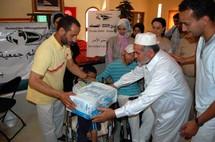توزيع مساعدات هامة بإقليم الخميسات