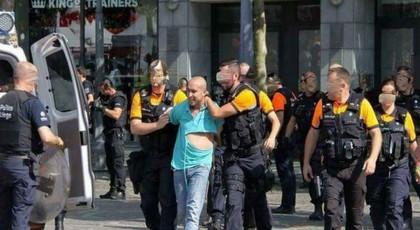 """صورة.. إخلاء سبيل المغربي الذي هاجم """"بالكليموجين"""" مسيرة تضامنية مع حراك الريف ببلجيكا"""