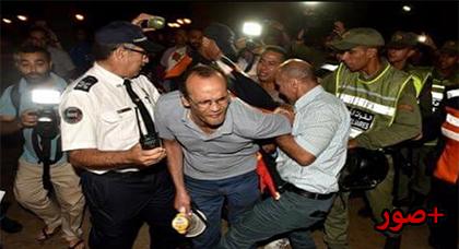 التدخل الأمني ضد المتضامنين مع حراك الريف بالرباط يثير إستياء النشطاء