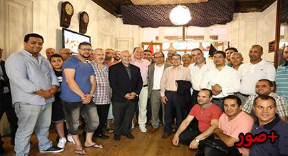 جمعية ستاليم للتجار بمنطقة بروكسيل ميدي ليمونييه ستالين كراد تنظم حفل إفطار بهيج.