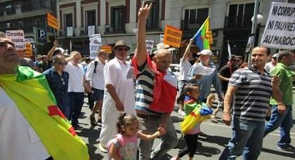 بعد هولندا.. وقفة تضامنية في ألمانيا تضامنا مع معتقلي حراك الريف ودعوات لمسيرة شعبية في مدريد