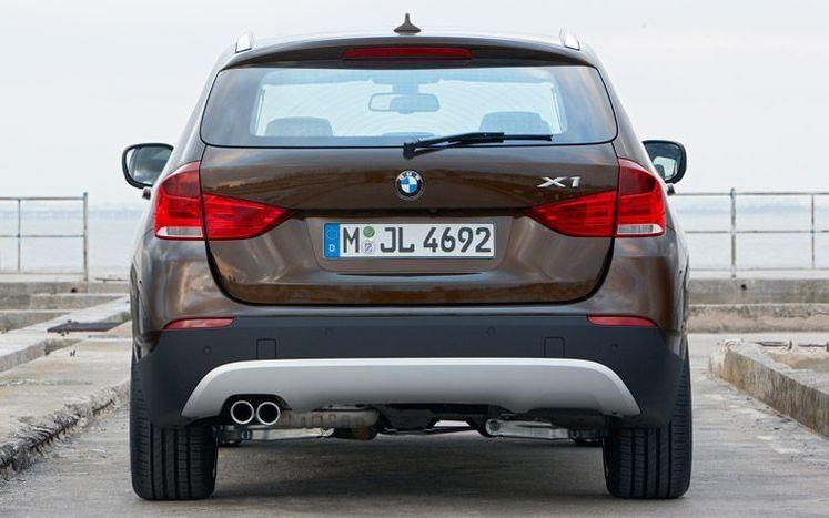 BMW X1 الكشف الكلي عن الجديدة