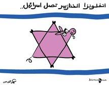 من المتوقع وفاة ربع سكان اسرائيل  بوباء انفلونزا الخنازير