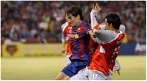 تعادل شيفاس المكسيكي مع برشلونة الإسباني 1-1