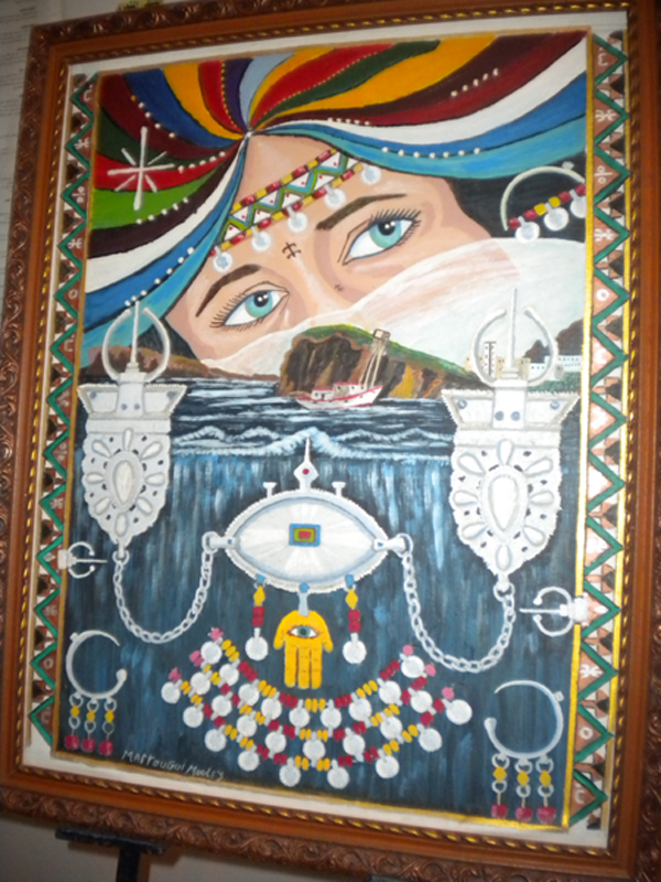 الفنان التشكيلي محمد متوكي يبعث الروح في مدينة الناظور المنقرضة بريشته الفنية