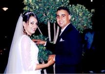 عقد قران  الآنسة المصونة - هُنيدة الشامي- على الشاب - يُسري بن حدو-