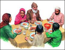 كيف نأكل في رمضان؟