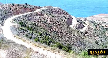 روبورتاج.. طريق شعابي منفذ الموت نحو الطريق الساحلية