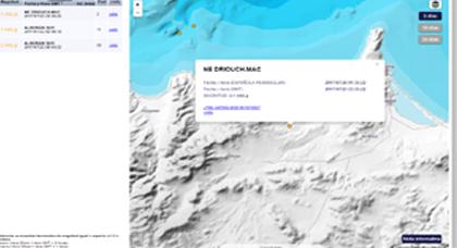 المعهد الجغرافي الإسباني يرصد هزة أرضية خفيفة على اليابسة بمدينة الدريوش