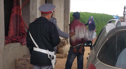 درك الكبداني يعتقل مختطف فتاة من حي صوناصيد بعد مطاردته بتازغين