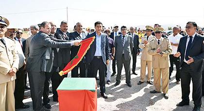 رئيس مجلس جهة الشرق يعطي انطلاقة مجموعة من المشاريع بمناسبة عيد العرش المجيد