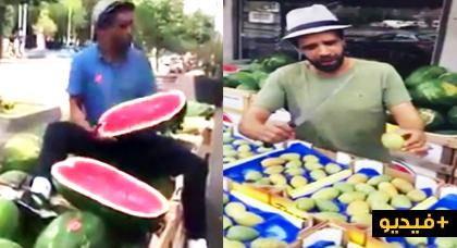 """بائع """"الهندية"""" المغربي بأمستردام يعود بفيديو جديد"""