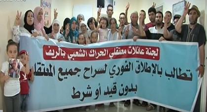 """عائلات معتقلي الحراك المرحلين إلى """"عكاشة"""" يعممون هذه الرسالة"""