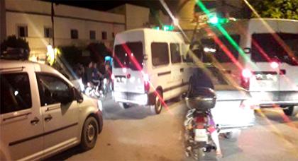 """الدريوش.. قوات الأمن تفرق وقفة تضامنية لنشطاء الحراك بميضار مع """"الشهيد"""" عماد العتابي"""