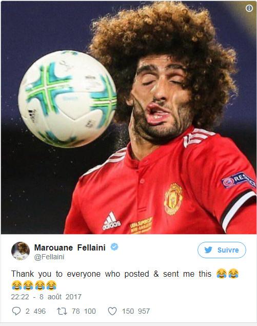 كرة طائشة تغير ملامح المغربي مروان فيلايني وهكذا علق على الصورة