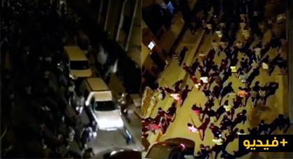 مسيرات ليلية بالحسيمة
