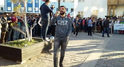 الأمن يوقف سعيد قدوري ناشط الحراك بالعروي بعد منع المسيرة