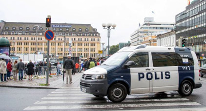 اعتقال 4 مغاربة للاشتباه في صلتهم بحادث الطعن في فنلندا