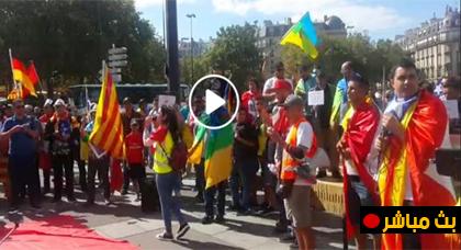 مباشر من باريس.. مظاهرة حاشدة لدعم الحراك الشعبي بالريف