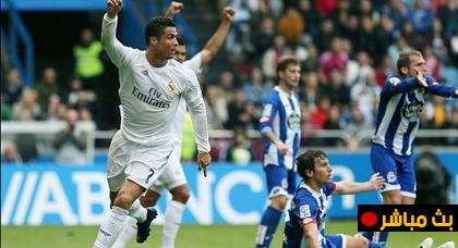 """مباشر : """" ديبورتيفو لاكورنيا ضد ريال مدريد """" فعاليات الجولة 1 من الدوري الاسباني لكرة القدم لاليغا"""